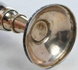 Russian Gilt Silver Niello Goblet