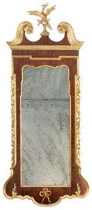 Fine George II Parcel-Gilt Mirror