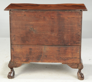 A Massachusetts Chippendale Block Front Chest