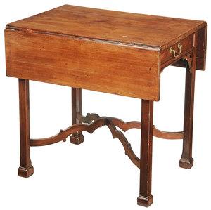 American Chippendale Mahogany Pembroke Table
