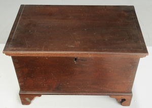 American Chippendale Child Size Lift Top Chest