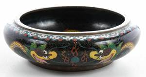 Five Chinese Cloisonné Objects