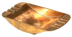 Art Deco Bronze Cigar Ashtray