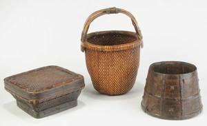 Three Asian Baskets