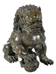 Cast Bronze Foo Dog
