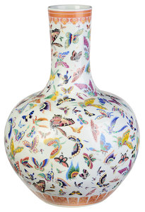 Chinese Porcelain Bottle Form Vase