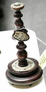 Six Chinese Decorative Items, Jade Inlay Stands