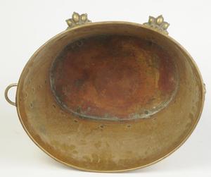 Regency Style Brass Kindling Bucket