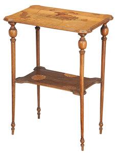 Art Nouveau Marquetry Gallé Table