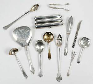 Assorted Sterling Flatware, 36 Pieces