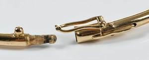 Two Pieces Gold & Diamond Jewelry