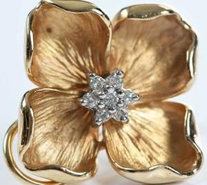 14kt. Diamond Earnings