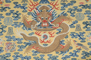 Imperial Kesi Slit Tapestry Dragon Robe