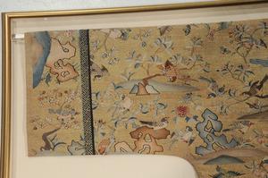 Rare Chinese Kesi Slit Tapestry Bird Robe