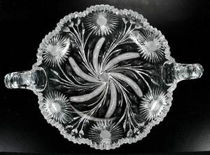 Three Cut Glass Table Items