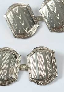 Two Pieces Antique Jewelry