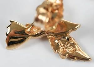 14kt. Earring & Brooch Set