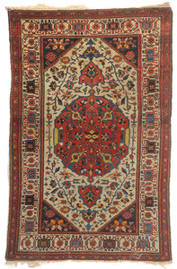 Ivory Field Persian Rug