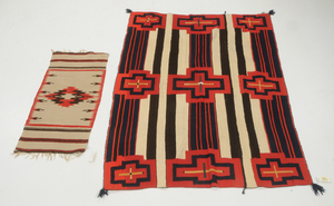Third Phase Chief Blanket and Woven Mat