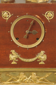 Louis Philippe Style Gilt Bronze Mantle Clock