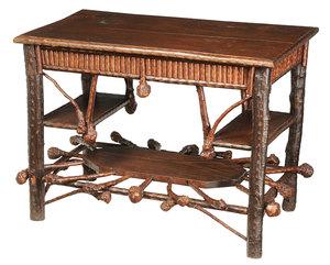 Southern Folk Art Library Table
