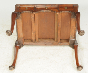 Queen Anne Figured Walnut Dressing Table
