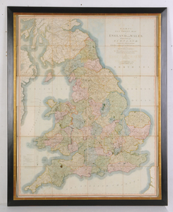 Cary's Six Sheet Map of England and Wales