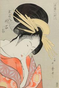 Four Japanese Wood Block Prints, Hiroshige