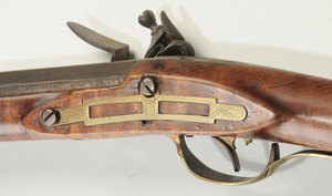 Flintlock Kentucky Long Rifle