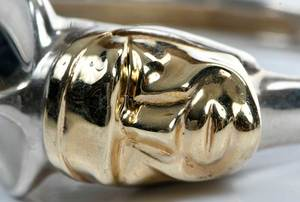 Minas 14kt. & Silver Bracelet