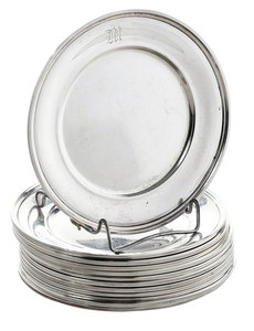 Set of 12 Sterling Bread/Butter Plates