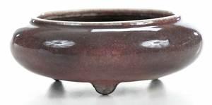 Chinese Kangxi Peachbloom Brush Washer