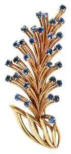 Cartier 18kt. Sapphire Brooch