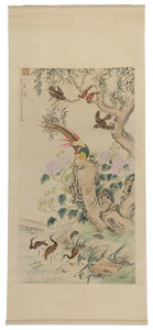 Fine Chinese Hand Painted Scroll
