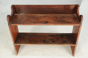 American Country Pine Bucket Bench