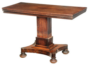 Georgian Mahogany Collapsible Server