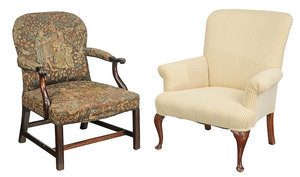 Queen Anne Style, Chippendale Style Chairs