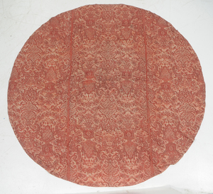 Silk Fortuny Table Cloth with Two Pillow Shams