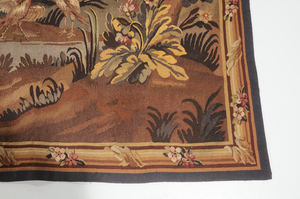 Large Scale Verdure Style Tapestry