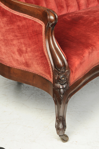 Belter Rococo Revival Rosewood Sofa