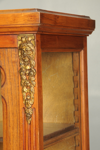 French Bronze Mounted Vitrine Cabinet
