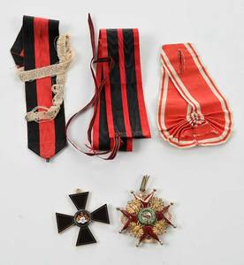 Two Russian Imperial Medals