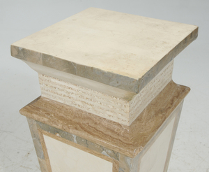 Marble Veneered Pedestal