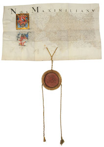 A Maximillian II Document