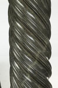 Jim Williams Estate Green Marble Pedestal
