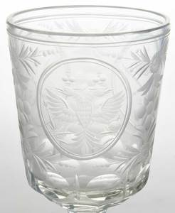 14 Russian Imperial Engraved Glasses