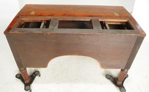 Fine Classical Figured Mahogany Bookcase