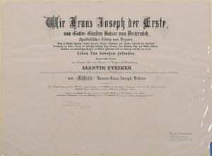 Two Austro-Hungarian Franz Josef Documents