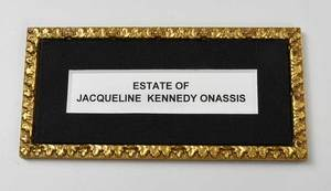 Jacqueline Kennedy Onassis Davenport Service