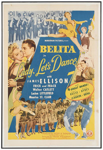 Monogram Pictures/Belita Movie Poster